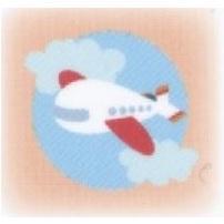 ハートグラムカード飛行機タイプ