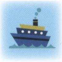 ハートグラムカード船タイプ
